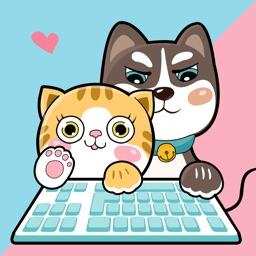 宠物输入法-猫猫狗狗表情斗图键盘