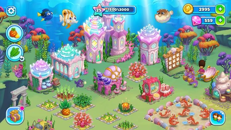 Aquarium Farm: mermaid story screenshot-5