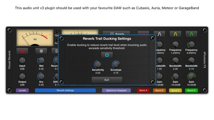 Visual Reverb AUv3 Plugin screenshot-3