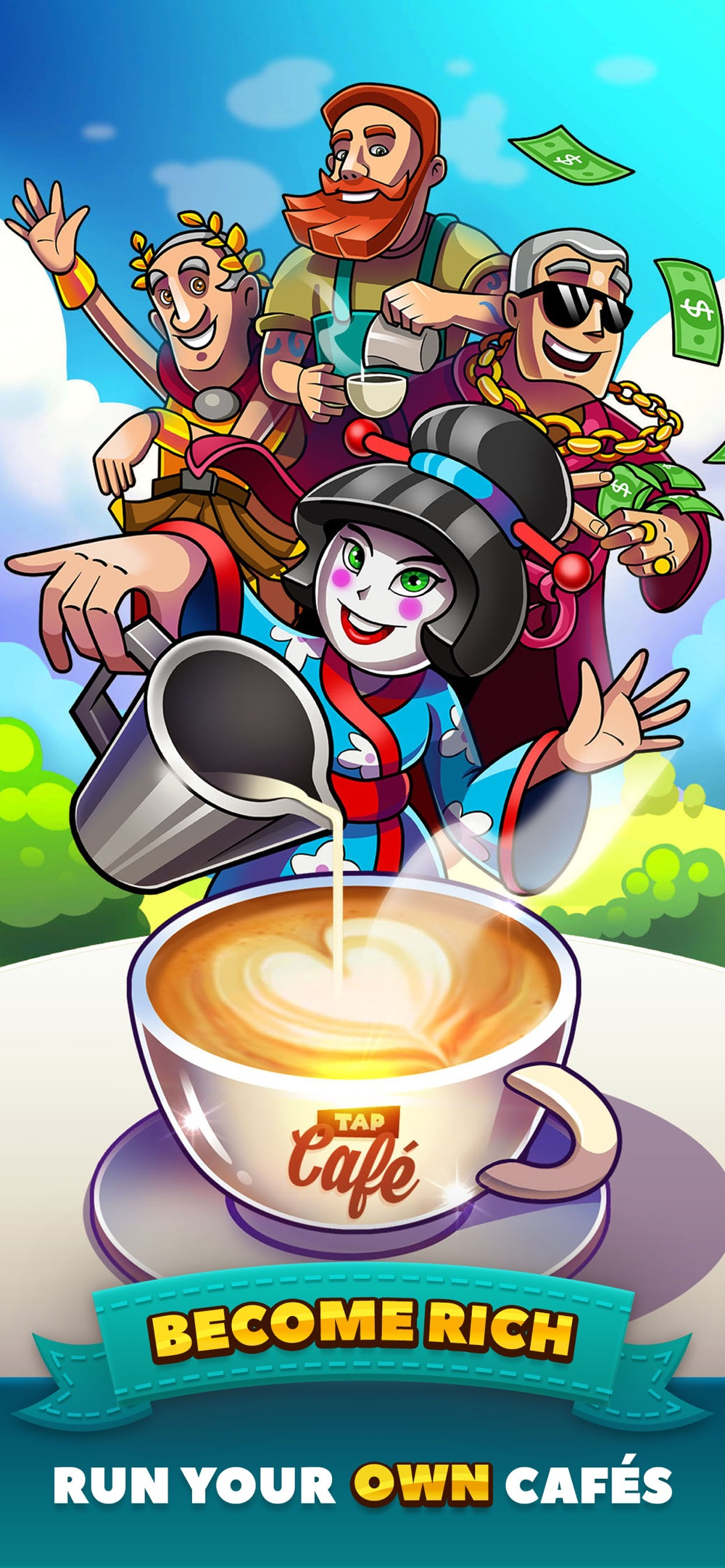 Tap Cafe – Coffee Shop Manager