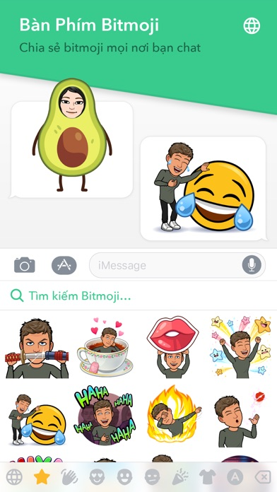 Screenshot for Bitmoji in Viet Nam App Store