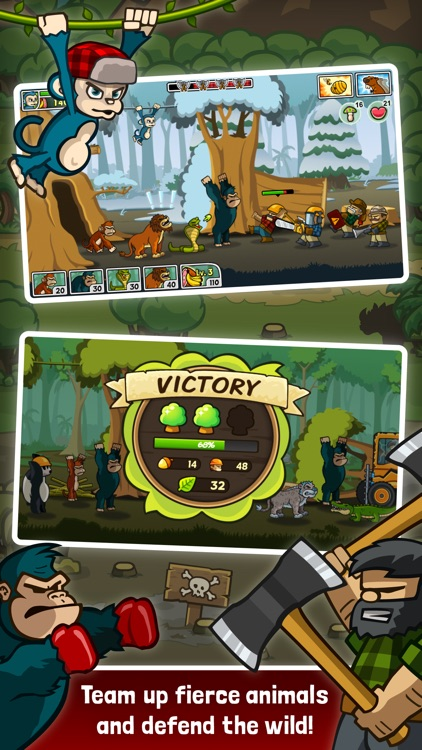 Lumberwhack: Defend the Wild screenshot-0