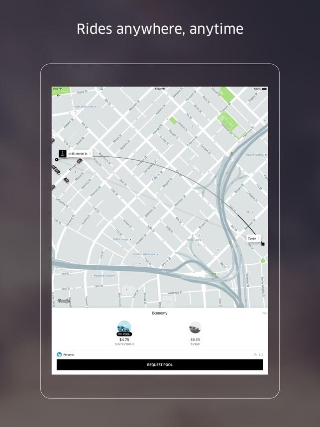 download uber app free ride