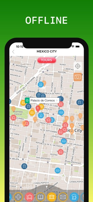 Mexico City Travel Guide & Map on the App Store on