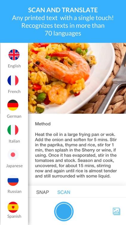 Scan & Translate+ Text grabber screenshot-0