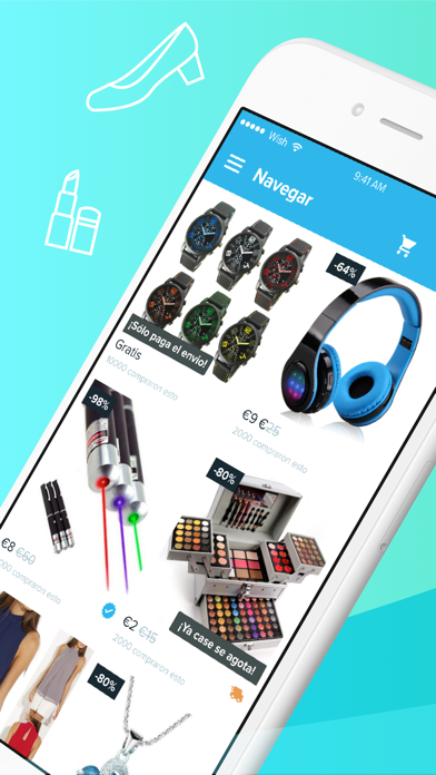 Screenshot for Wish - Comprar es divertido in Ecuador App Store