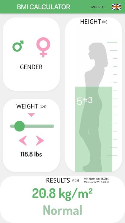 BMI Calculator 2 screenshot-3