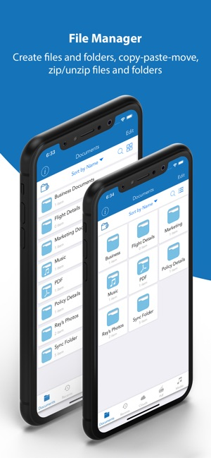 File Manager PRO - Documents Screenshot