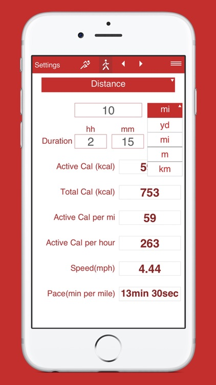 Running and Walking Calories screenshot-3