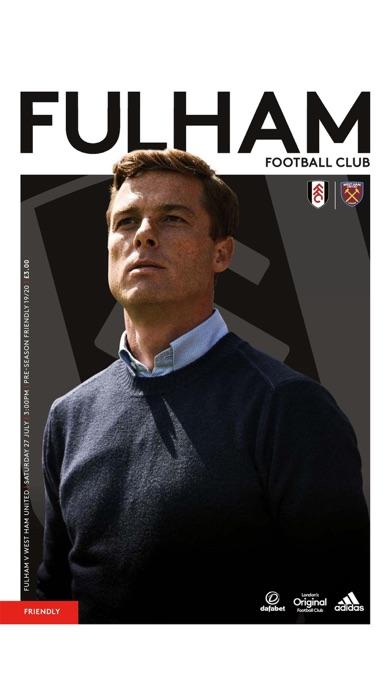 Fulham FC Programme screenshot one