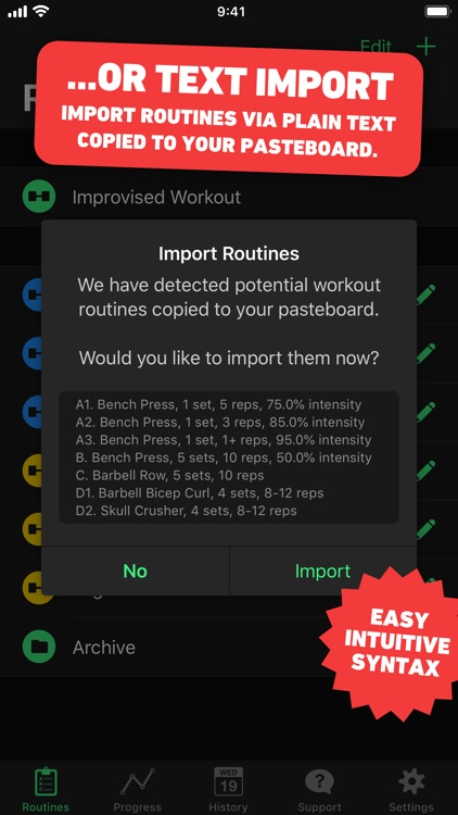 HeavySet - Gym Workout Log screenshot-4