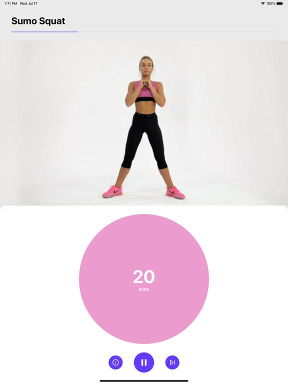Workout 24 Weight loss fitness screenshot 7