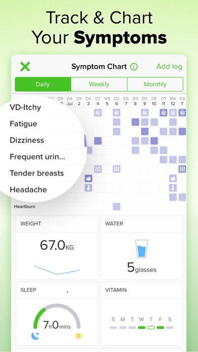 Screenshot for Pregnancy Tracker゜ in Lebanon App Store