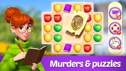 Small Town Murders: Match 3 screenshot 1
