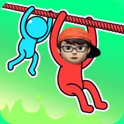 Fun Race 3D : Rope Rescue!