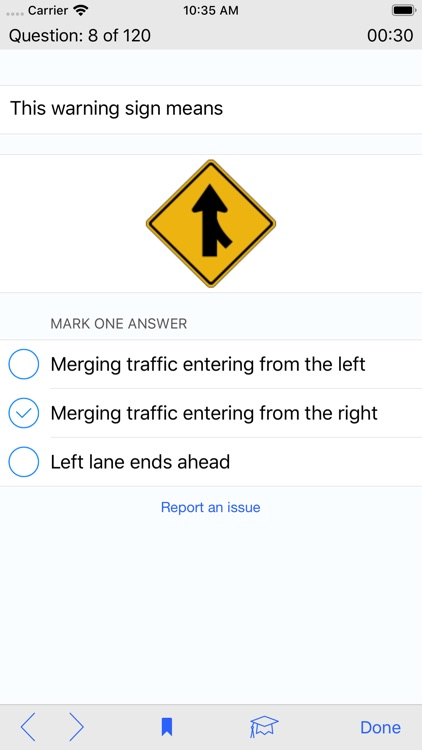 Washington DMV Test Prep screenshot-3