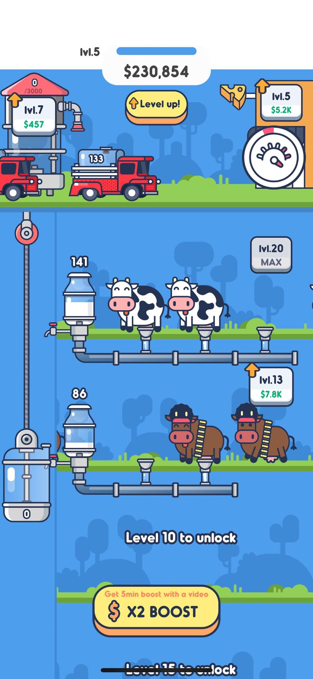 Milk Factory Cheat Codes