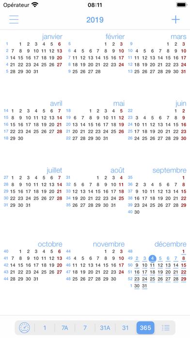 miCal - le calendrier manquant