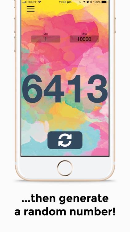 Random # Number Generator screenshot-3