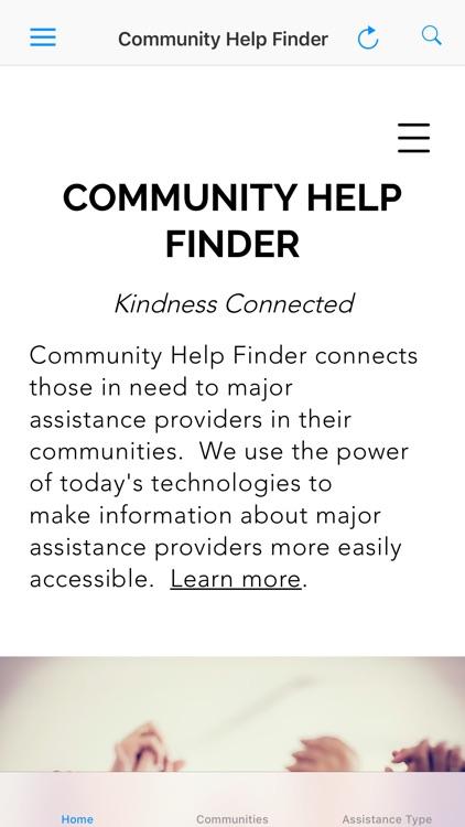 Community Help Finder