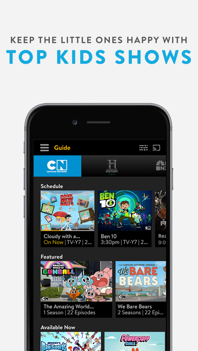 Sling TV: Stream Live TV now - Revenue & Download estimates