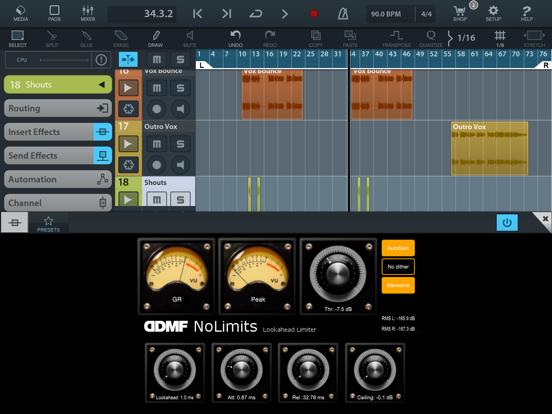 NoLimits AU Limiter by DDMF screenshot 4