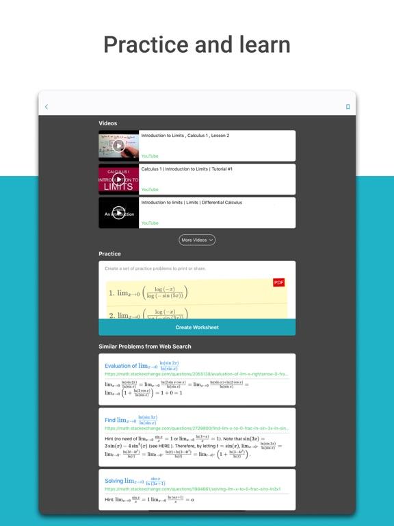 Microsoft Math Solver - HW app screenshot 8