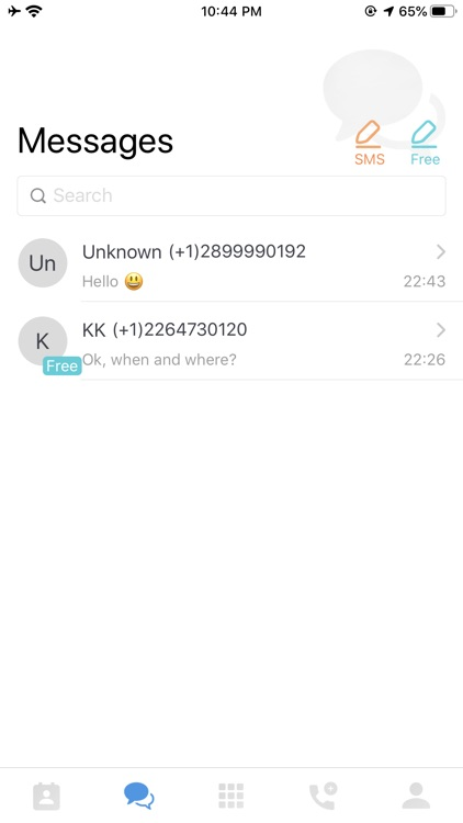 WePhone-International Calling screenshot-3