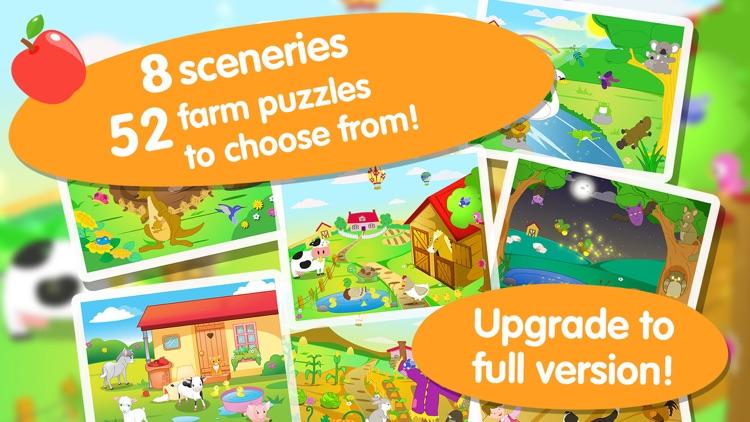 Farm Jigsaw Puzzles 123 Lite screenshot-4