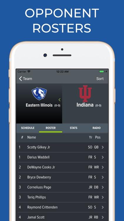 Indiana Football Schedules screenshot-7