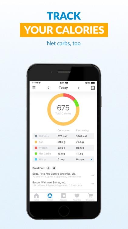 Total Keto Diet: Macro Tracker