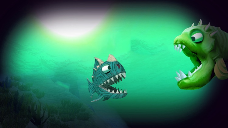 3D Fish Feeding and Grow