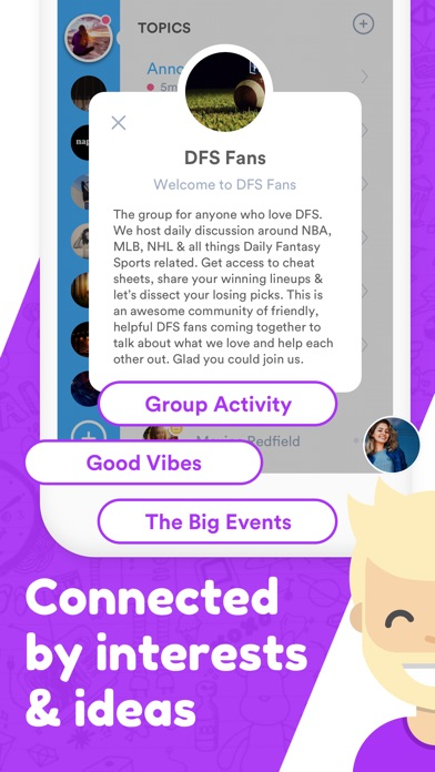 Flick: Communities & Groups screenshot two