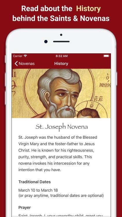Pray Catholic Novena Prayers screenshot-3