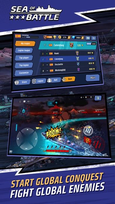 Fleet Battle PvP screenshot 2