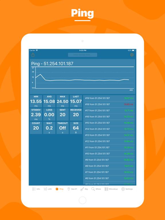 Network Utility Pro Screenshots