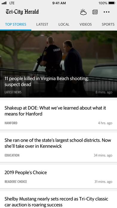 Tri-City Herald News screenshot one