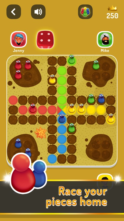 Ludo Trouble - Family Parchis screenshot-8