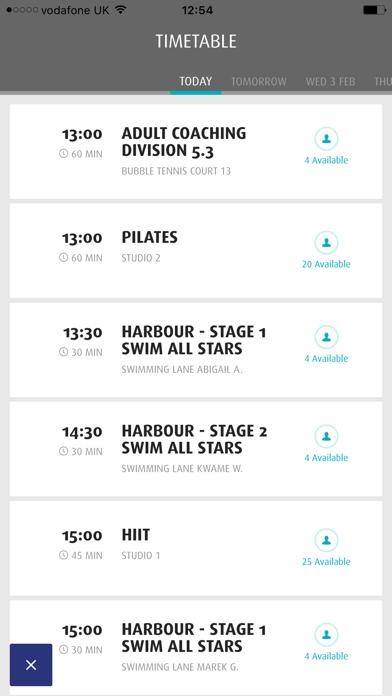 Harbour Club screenshot three