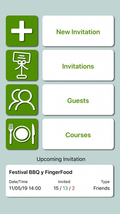 Screenshot for Guests and Invitations in Indonesia App Store