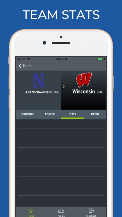 Wisconsin Football Schedules screenshot-3