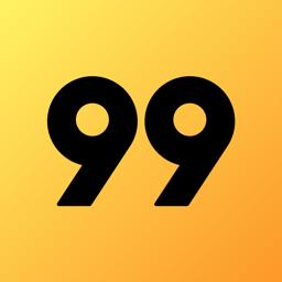Ícone do app 99 - Carro Particular e Táxi
