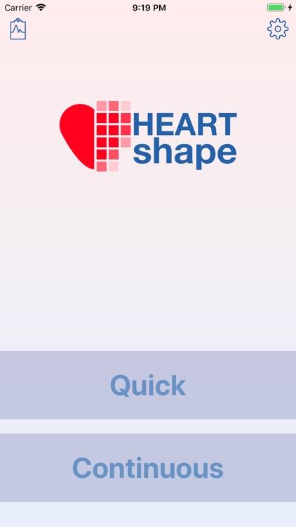 HEARTshape - Pulse and Fitness screenshot-6