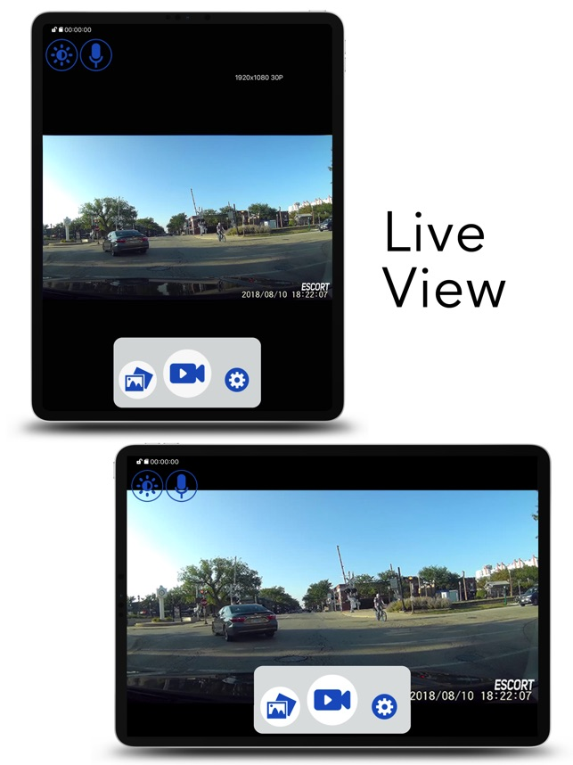 Live Escort Review >> M1 Dash Cam On The App Store