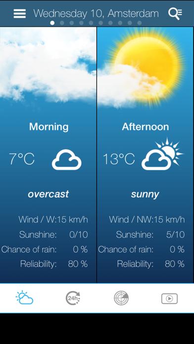 Weather for the Netherlandsのおすすめ画像2