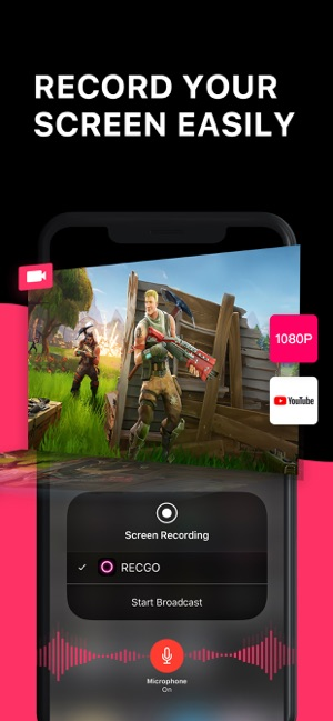 Screen Recorder + on the App Store