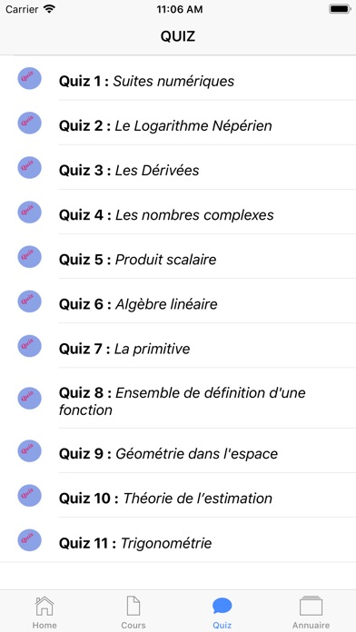 Maths Terminale ES screenshot 5
