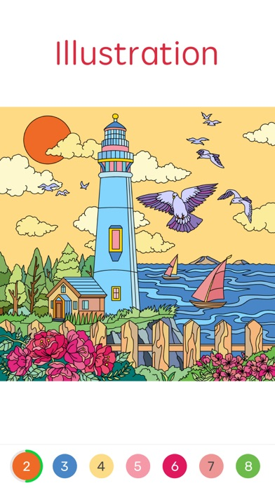 download Paint By Number: Coloring Book apps 1