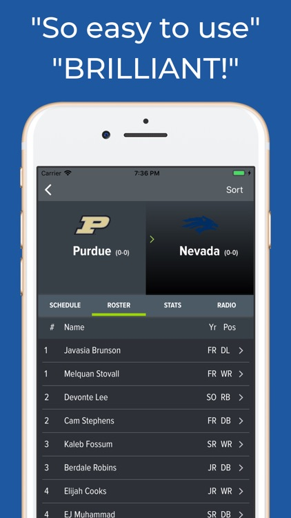 Nevada Football Schedules