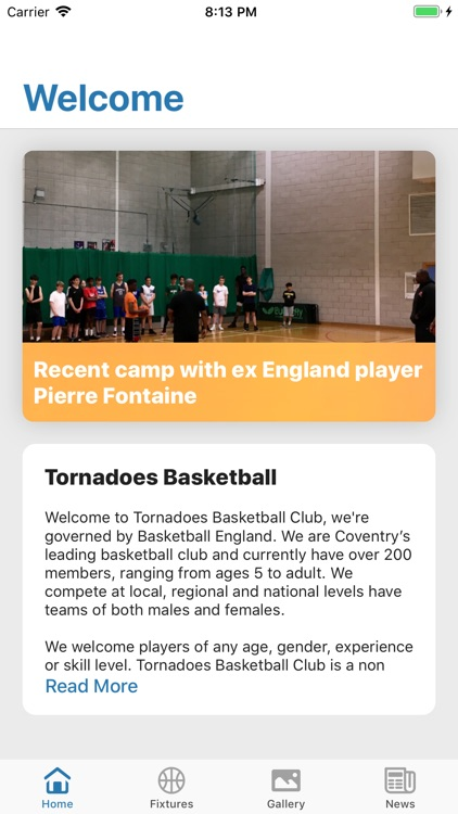 Official Tornadoes Basketball